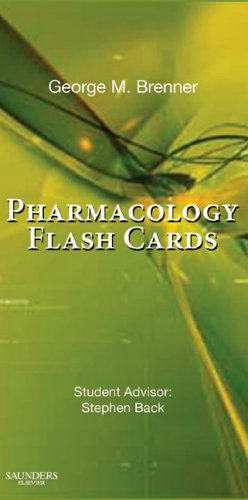 Pharmacology Flash Cards (Pharmakologie-flash-karten)