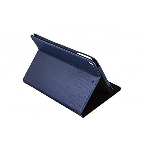 Silver HT NANOHOOP Wave Schutzhülle für Apple iPad Air 1, 2und iPad Pro 9.7, Marineblau