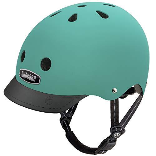 Nutcase Nutcase Kinder Street Malachite Helm, türkis, S