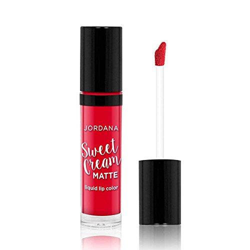JORDANA Sweet Cream Matte Liquid Lip Color - Cherry Cobbler - Jordana Liquid