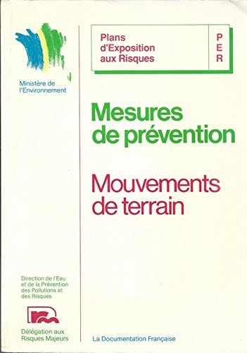 Mesures de prevention des mouvements de terrain