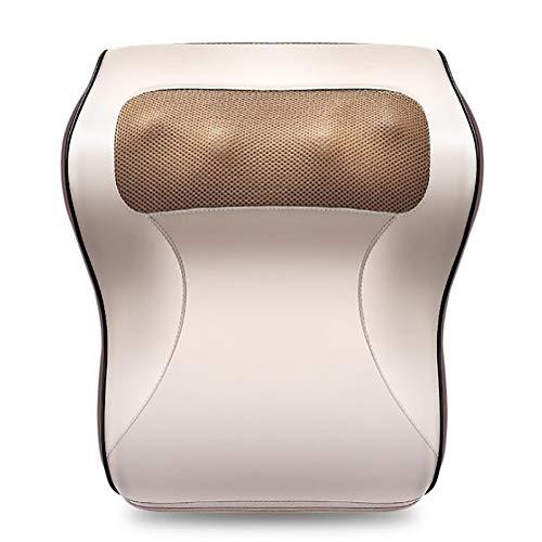 Shiatsu Massagekissen für Nacken Rücken Beine Hände Füße mit Wärmefunktion im Auto Zuhause Büro Massagegerät Einfach zu tragen