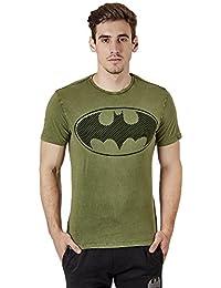 Batman by Free Authority Men's Half Sleeve T-Shirt
