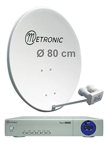 Decodeur Metronic - Metronic 498268 Calysta 80 MB Parabole acier