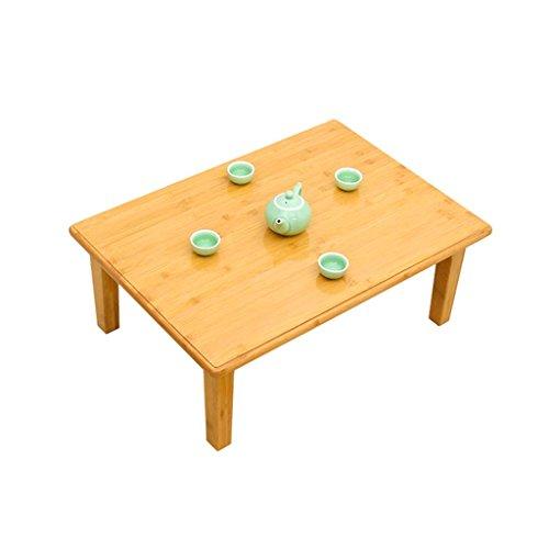 Table Basse Pliante en Bambou Table Basse Table d'ordinateur