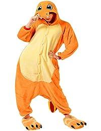 Moollyfox Costume Cosplay Vetements De Nuit Femme Homme Unisexe Pyjama Animaux Onesie Deguisements