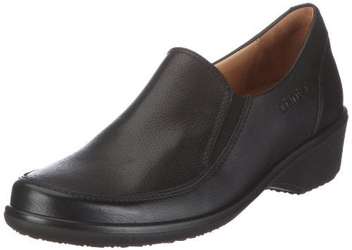 Ganter Gala Weite G 2-208151-01000, Chaussures basses femme Noir (Black V6)