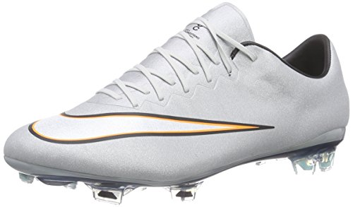 low priced 61120 63003 Nike Mercurial Vapor X CR FG, Chaussures de Football Homme, Grau (Mtllc SLVR