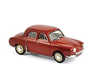 Norev-513077-Renault Dauphine-1961-Escala 1/43-Rojo