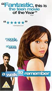 A Walk To Remember [2002] [VHS]