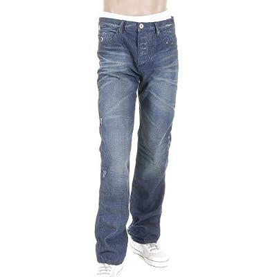 Armani Jeans J21 mid blue vintage denim jean N6J21 2E AJM0040