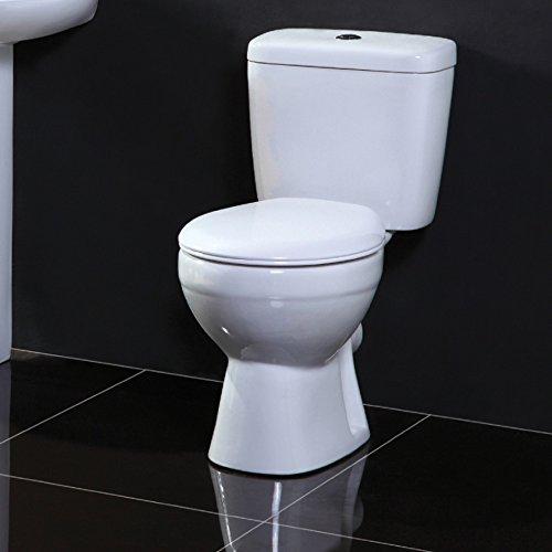Atlantic Pan, Cistern & Soft Close - Toilet Pak by John Louis Bathrooms