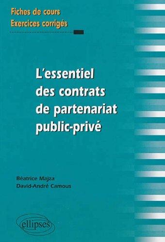 l-39-essentiel-des-contrats-de-partenariat-public-priv-fiches-de-cours-et-exercices-corrigs