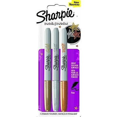 Sharpie Fine Metallic Permanent Marker - Gold