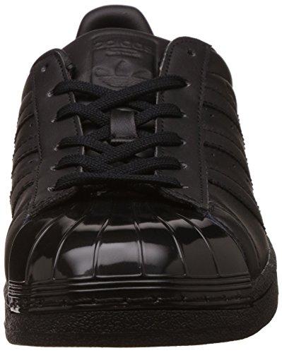 adidas Superstar Glossy, Basket femme Noir (Cblack/cblack/ftwwht)