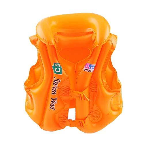 Gyratedream Kinder Float Schwimmhilfe Sicherheit Float Aufblasbare Schwimmweste Schwimmweste Schwimmhilfe Weste für Kinder -