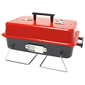 Camp 4 George Barbecue charbon Rouge/noir 43 x 29 x 13