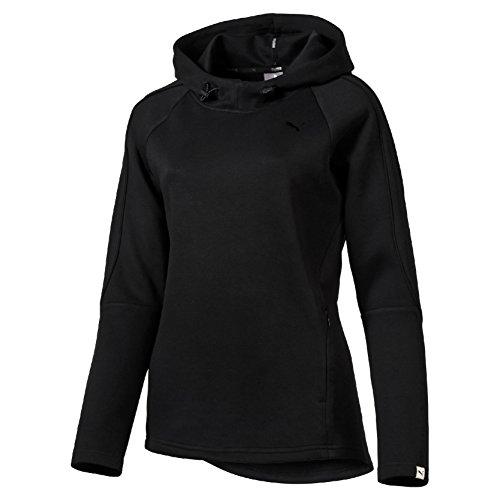 Puma Evo W Felpa Sportiva - Nero (Cotton Black) - M