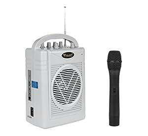 azusa sh 130 mikrofon und verst rker mit lautsprecher. Black Bedroom Furniture Sets. Home Design Ideas