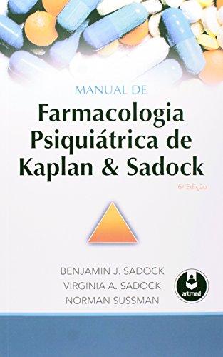 Manual de Farmacologia Psiquiátrica de Kaplan & Sadock (Em Portuguese do Brasil)
