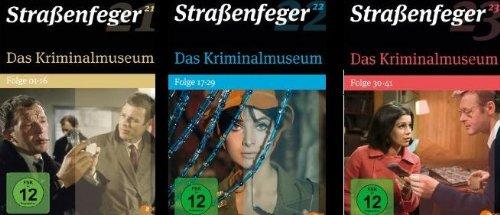 Das Kriminalmuseum - komplett 18DVDs (Straßenfeger 21, 22, 23) Folgen 1-41