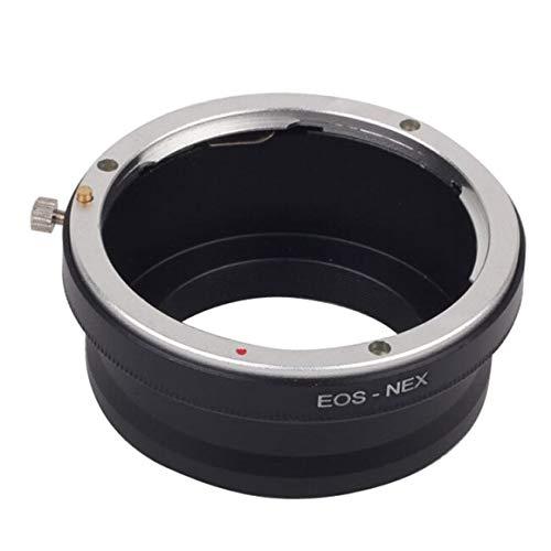 Funnyrunstore Bague d'adaptation d'objectif pour Canon EOS EF-S BAJONETT Objectif pour Appareil Photo Sony NEX E Mount Bague Adaptateur EOS-NEX NEX-7 NEX-5 NEX-3 Noir