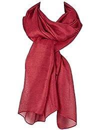Écharpe Douce Pour Les Femmes Foulard De Coton Soie Foulard En Volé  Vêtements Chics Mode Élégant 0516dde1407