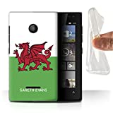 eSwish Personalised Case Gel Cover for Microsoft Lumia 435,