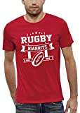 PIXEL EVOLUTION T-Shirt Rugby Biarritz Homme - Taille L - Rouge