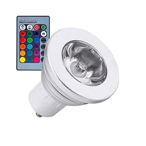 Lampada LED GU10 RGB 3W LEDKIA