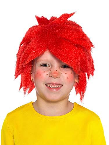 Kind Kobold Kostüm - Maskworld Pumuckl Kinder-Perücke zum Originalkostüm - Lizenzprodukt zur Fernsehserie