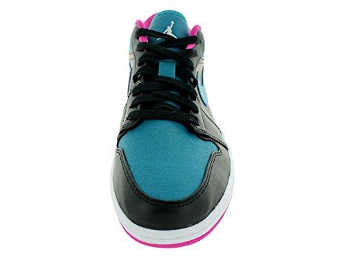 Nike Herren Air Jordan 1 Low Turnschuhe, Talla Schwarz