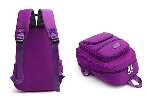 Keshi Nylon Niedlich Damen accessories hohe Qualität Einfache Tasche Schultertasche Freizeitrucksack Tasche Rucksäcke Wasser-Blau