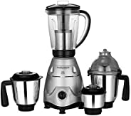 Morphy Richards Icon Superb 750 Watts Mixer Grinder with 4 Jars (Silver/Black)