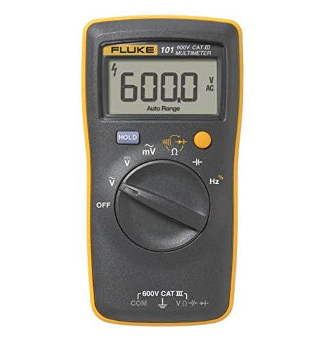 Fluke 101 Basic Digital Multimeter Pocekt Portable Meter Equipment Industrial by Fluke 101 Basic Digital Multimeter Pocek