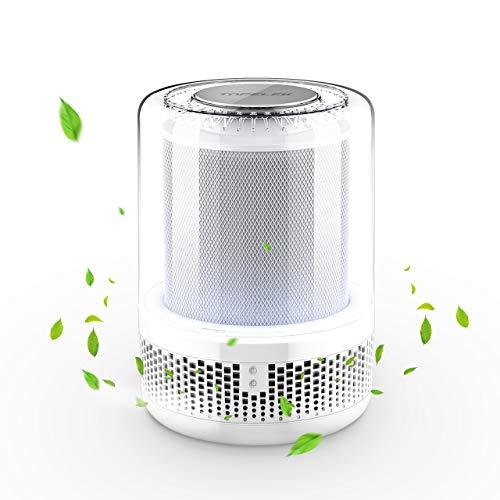 Luftreiniger TOPELEK Luftreiniger mit HEPA-Filter, Luftreiniger für Geruch,Allergien,Rauch,Staub,Schimmel Pollen; Perfekte für Zimmer,Küche,Büro,Hotel usw. Sauberer und Frischluftproduzent für Alle