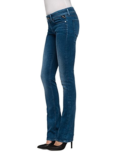 Replay Luz Bootcut, Jeans Donna Blu (Blue Denim)