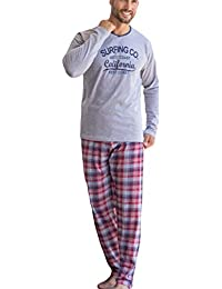KLER - Pijama Chico Largo Hombre