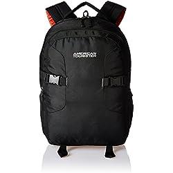 American Tourister Polyester 32 Ltrs Black Laptop Backpack (AMT BOP2017 LAPTOP BKPK3-BLACK)