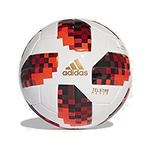 adidas 2018 World Cup Telstar Knockout Stage Mini Ball Size 1 White/Red/Black