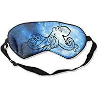 Octopus And Small Fish Black 99% Eyeshade Blinders Sleeping Eye Patch Eye Mask Blindfold For Travel Insomnia Meditation preisvergleich bei billige-tabletten.eu