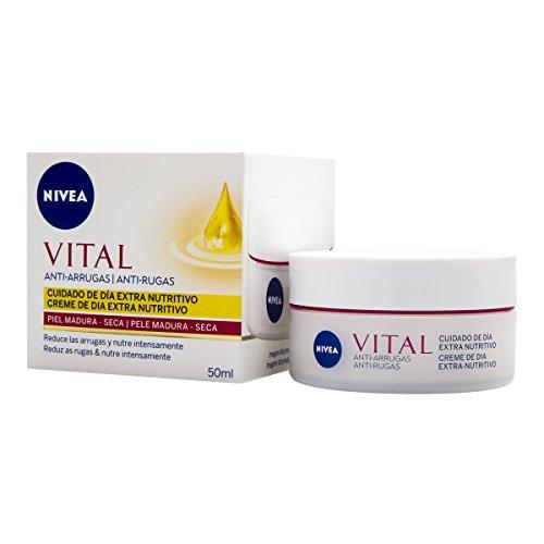 NIVEA Vital - Crema día antiarrugas cara rostro