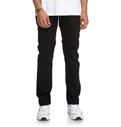 DC Shoes Worker Black - Straight Fit Jeans for Men - Männer (Shoes Jeans Dc)