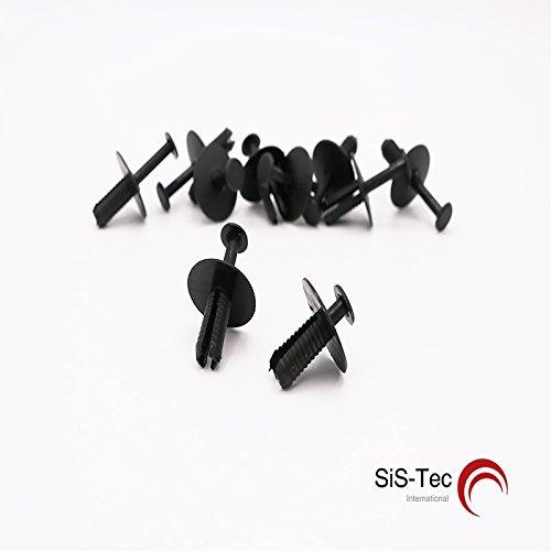 Preisvergleich Produktbild Spreiznieten Innenverkleidung Stoßstange / 51118174185 (20 Stück)