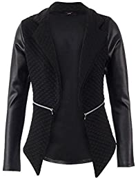 Fast Fashion - Blazers Matelassé Wetlook Dentelle Zip De Style - Femmes