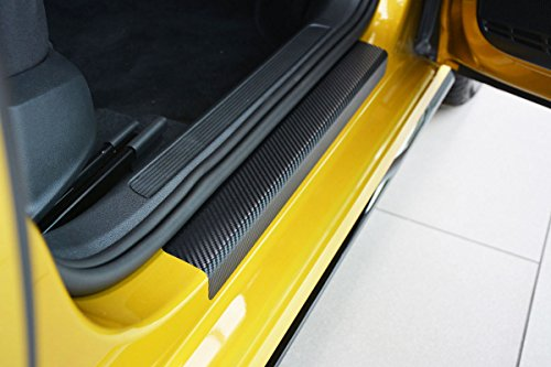 V-Protect Einstiegsleisten Lackschutzfolie Carbon Schwarz 3D 160µm (1312-103)