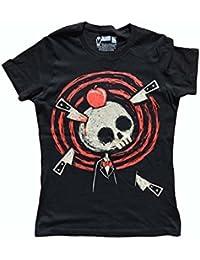 Akumu Ink - T-shirt - Manches Courtes - Femme noir noir taille unique