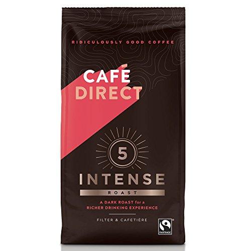 Cafe Direct Reichhaltige Braten Blend gemahlenen Kaffee fcr0003