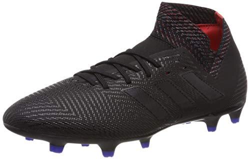 adidas Herren Nemeziz 18.3 FG Fußballschuhe Schwarz Core Black/Football Blue, 44 2/3 EU