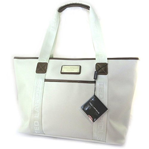 Shopping bag 'Ted Lapidus'beige.